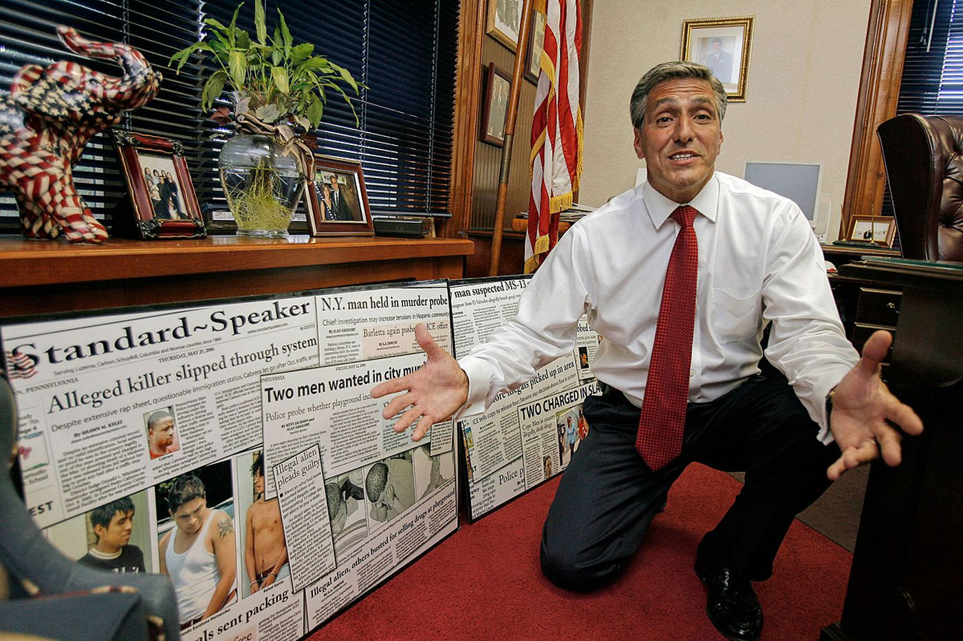 In 2006 war on illegal immigration, Hazleton's ex-mayor was 'ahead of our time'