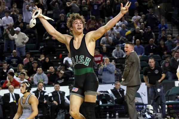 Camden Catholic's Lucas Revano is the South Jersey wrestler of the year