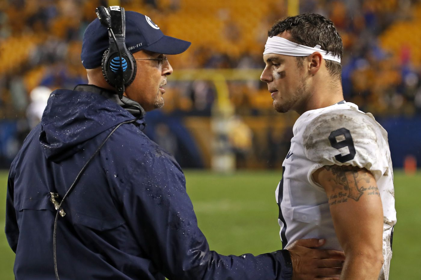 Penn State passing game 'a little bit off,' Trace McSorley vows to be more accurate