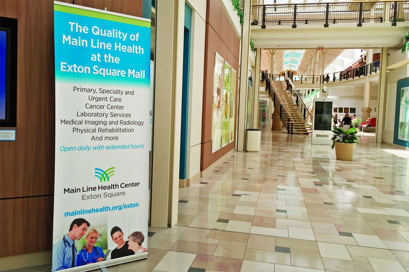 Health centers quickly filling up space in Philly area malls