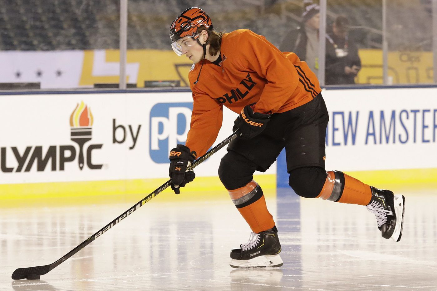 Nolan Patrick not on Flyers' camp roster, but 20-year-old prospect Egor Zamula is; Mark Friedman signs
