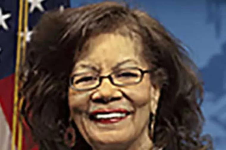 State Rep. Louise Williams Bishop.