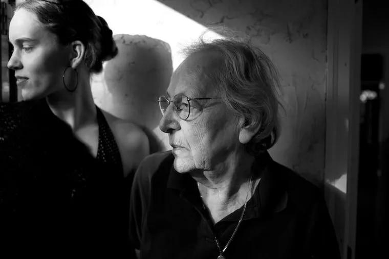 Madeline Fox with granddaughter Avi Loren Fox, left.