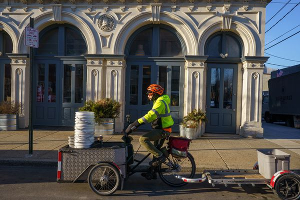 Entrepreneurs have figured out how to profit by pedaling to pick up food scraps