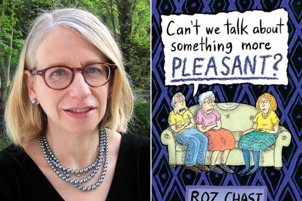 New Yorker cartoonist Roz Chast reads at the Free Library