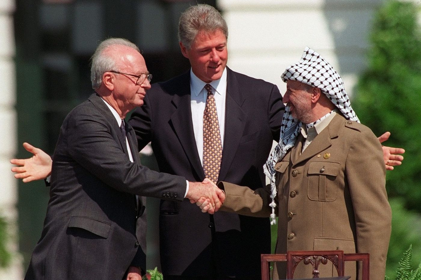 Mideast peace 'deal of century' eludes Trump, 25 years after Oslo Accords | Trudy Rubin