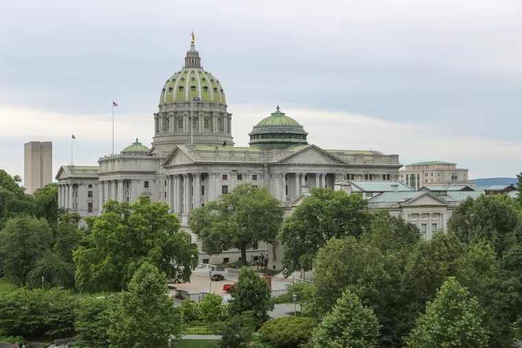 Stock Photos of the PA State Capitol in Harrisburg, Pa., Tuesday, June 18, 2019. For the Inquirer/Kalim A. Bhatti