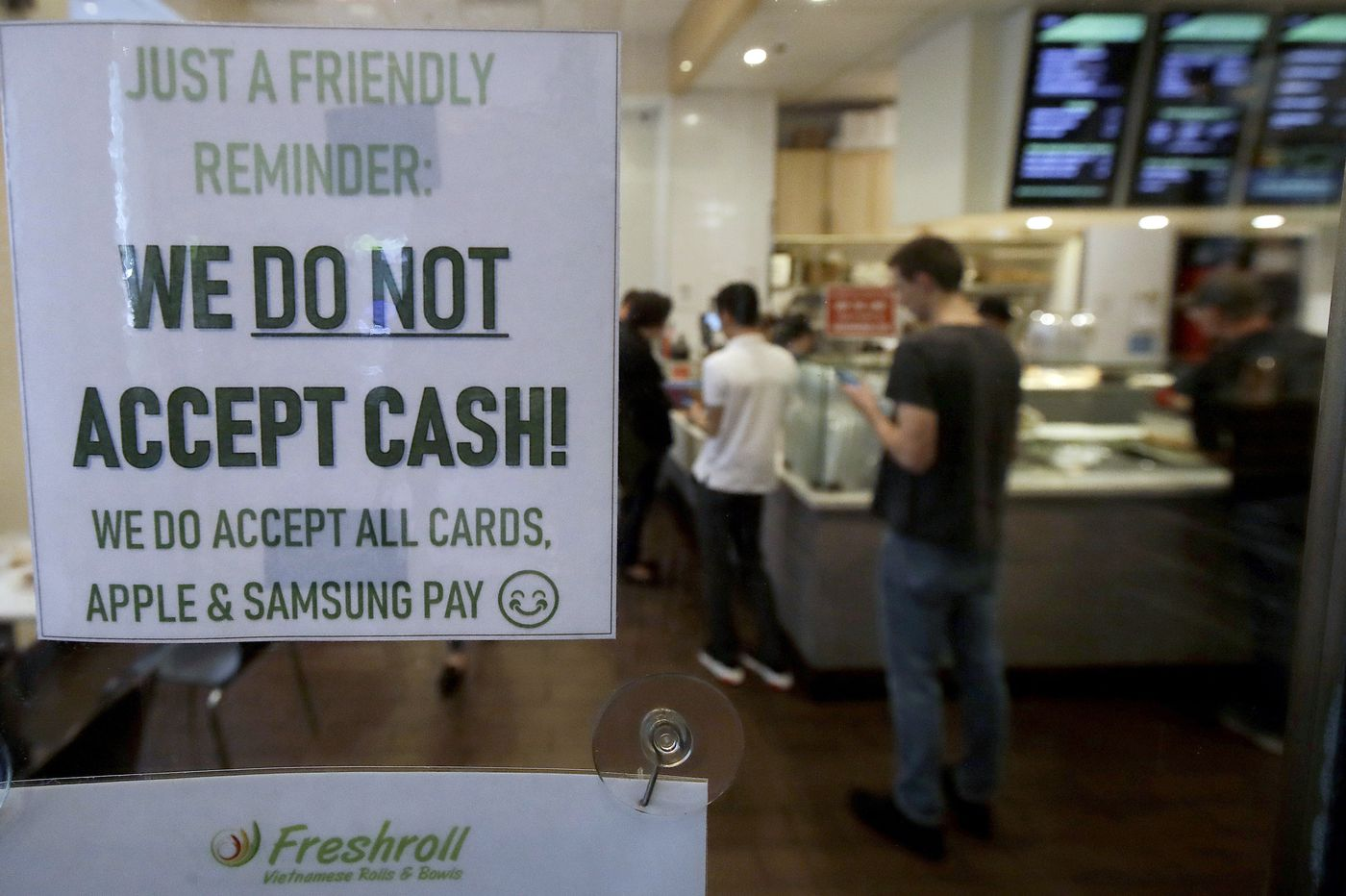 Philly, N.J. inspire a national 'movement' to ban cashless stores