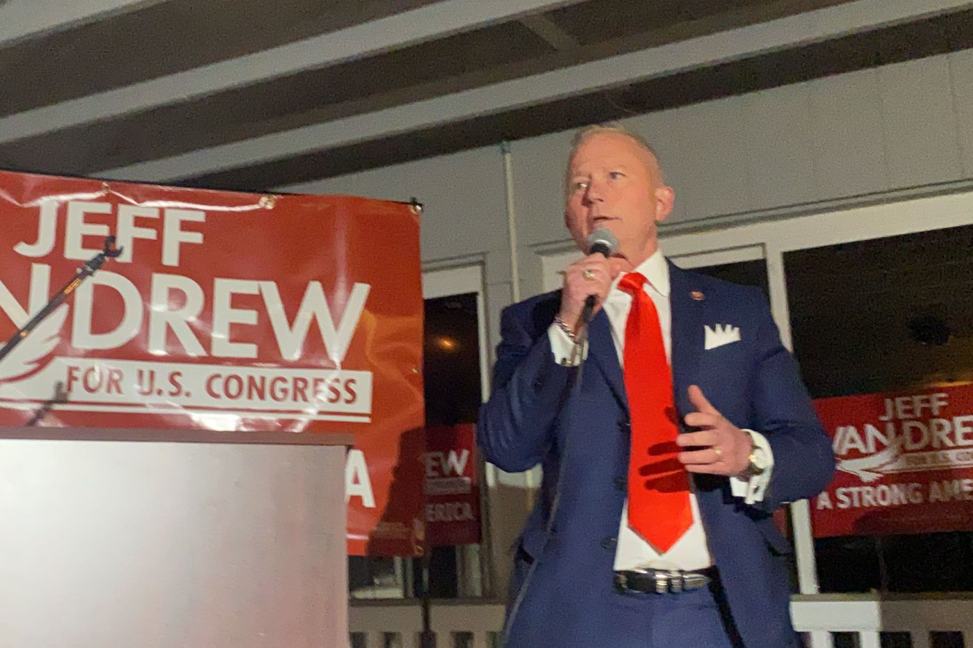 U.S. Rep. Jeff Van Drew leading in tight race against Amy Kennedy in New Jersey's 2nd Congressional District