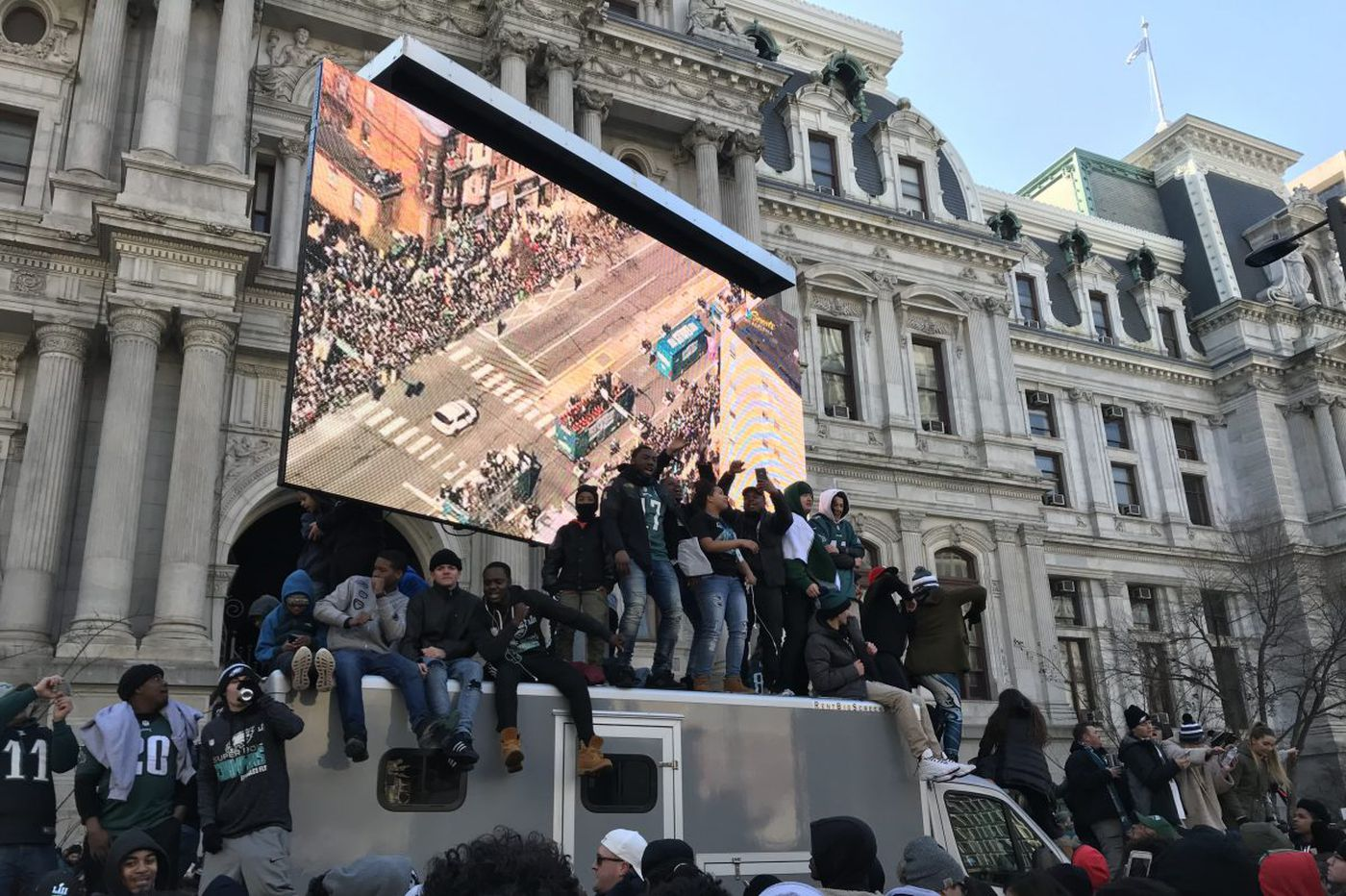 The wildest things heard on Philadelphia's police scanner during the Eagles parade