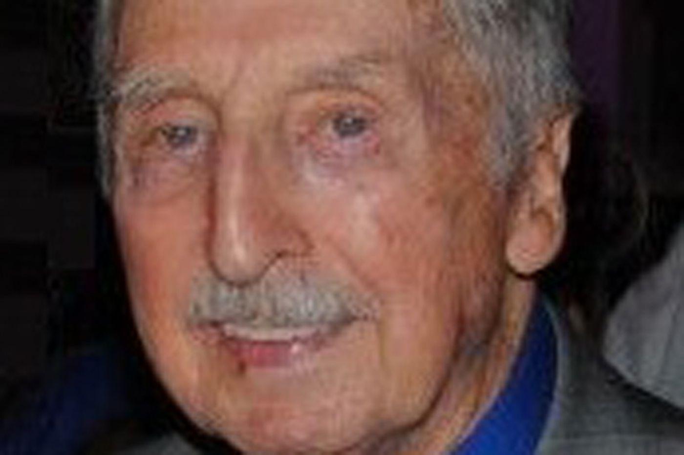 George Schwartz, firefighter in Phila.