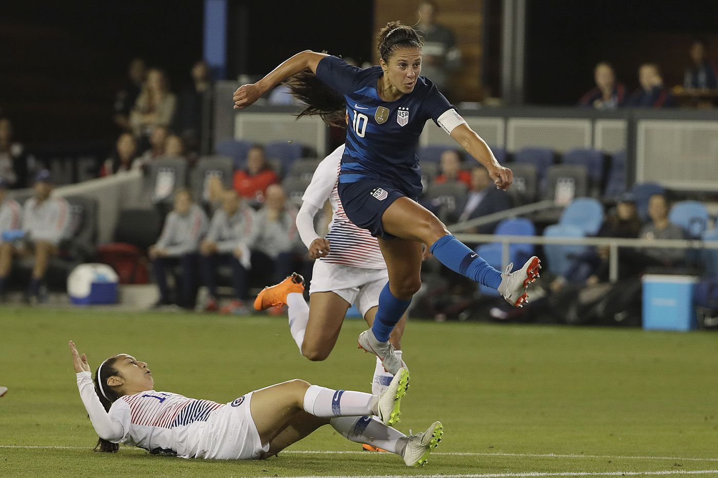Carli Lloyd adjusts to USWNT bench for World Cup prep in Europe