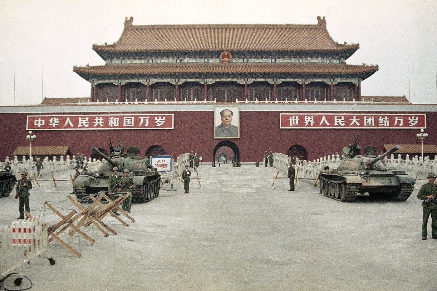 Prosperity, repression mark China 30 years after Tiananmen Square
