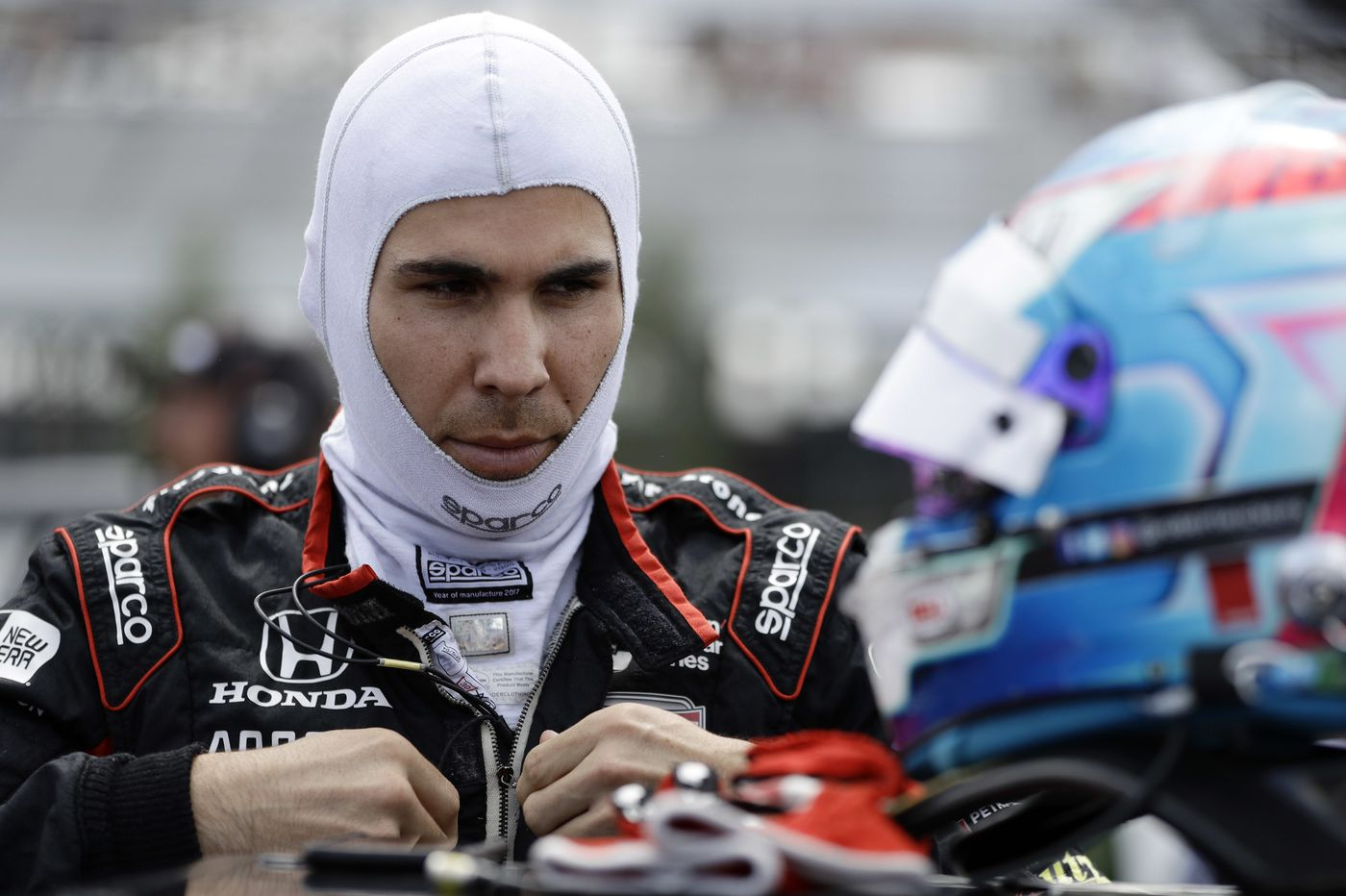 IndyCar driver Robert Wickens has rods, screws placed into spine