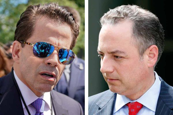 Scaramucci 'spokesman' accuses Priebus of adultery, battles with CNN host