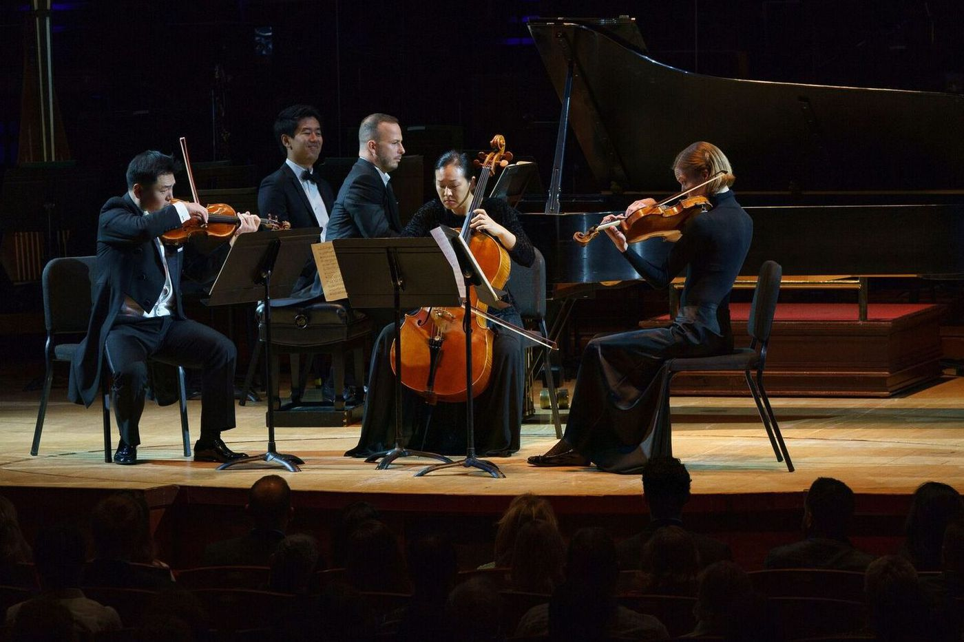 Philadelphia Orchestra opening gala: Yannick at the keyboard and a youthful surprise in the audience