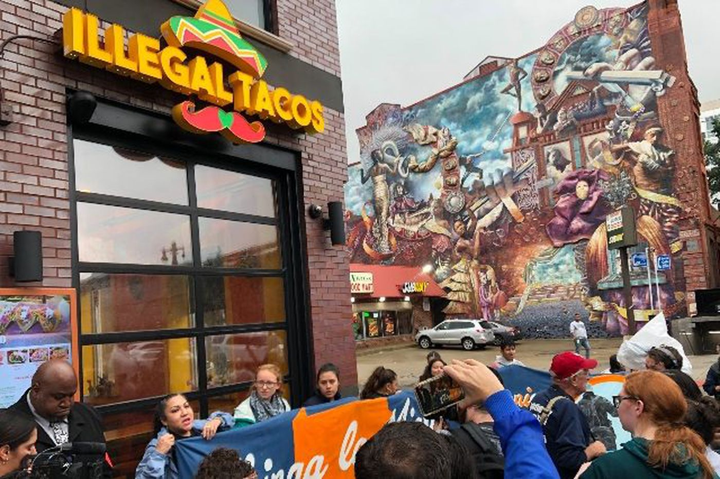 Philly's Illegal Tacos restaurant gets stuffed — and not with cheese and lettuce