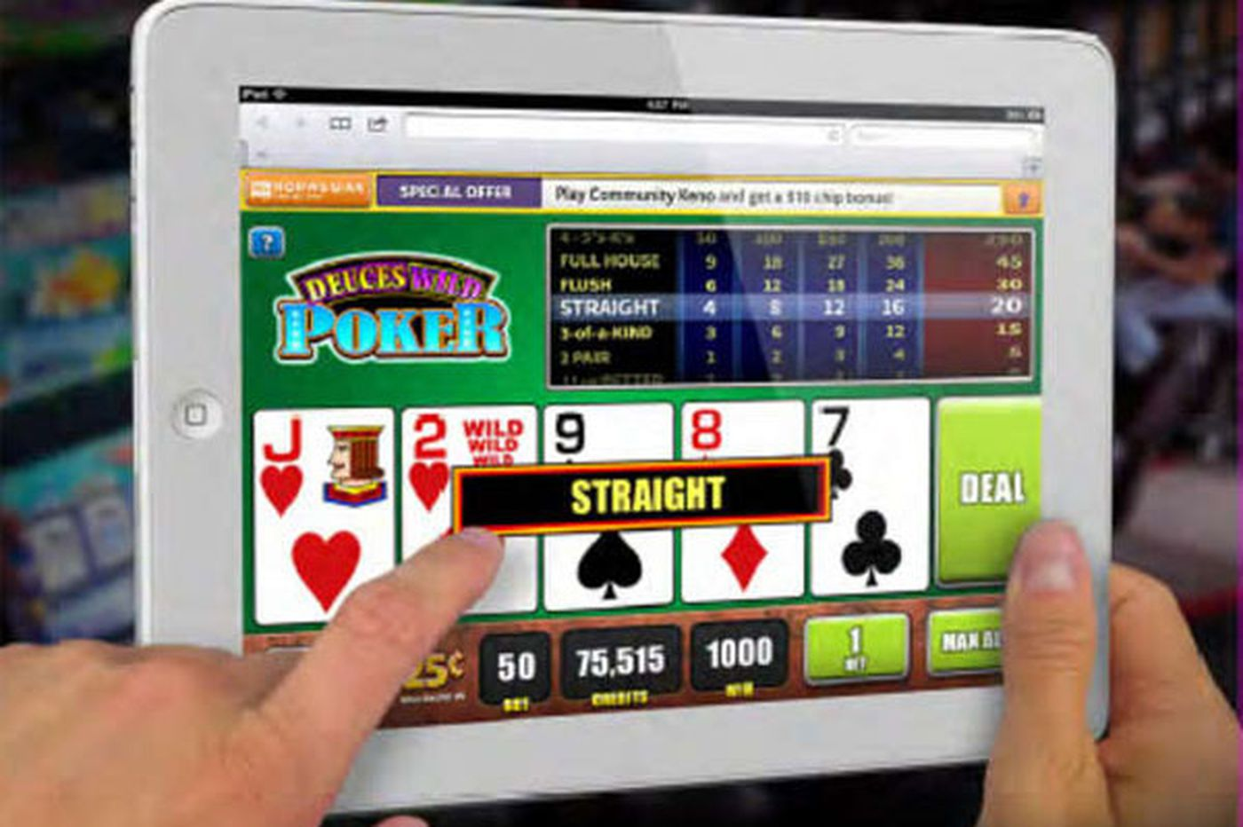 Parx owner plans to seek OK for gambling on smartphones and tablets