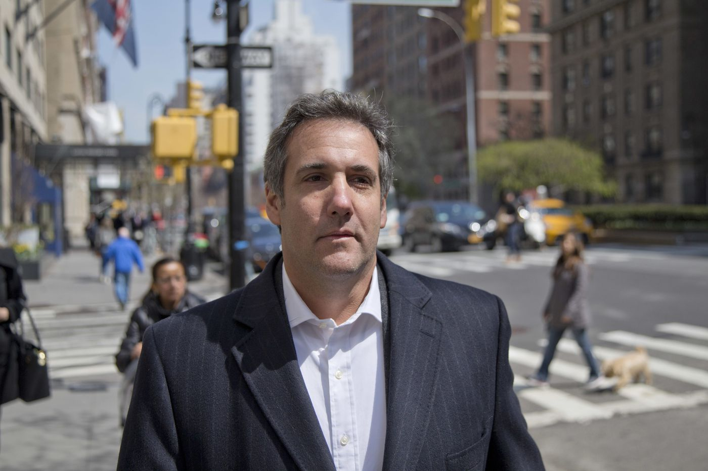 Once a 'punching bag,' Cohen takes a swing at Trump