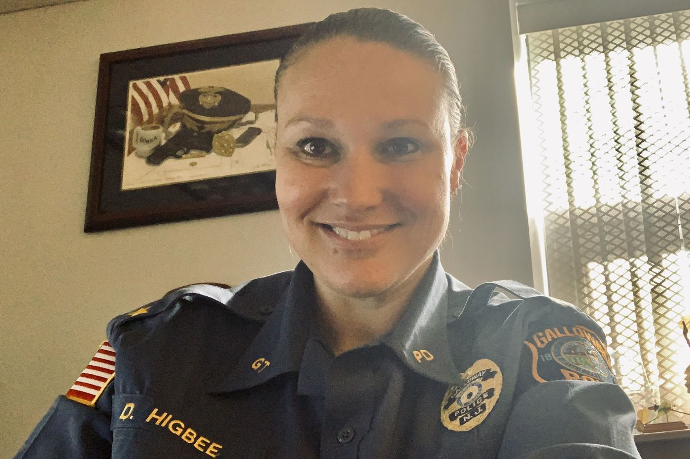 First female police chief in Atlantic County wants to open doors for other women
