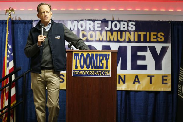 With a new term, Pat Toomey flexes his muscles on health care, taxes