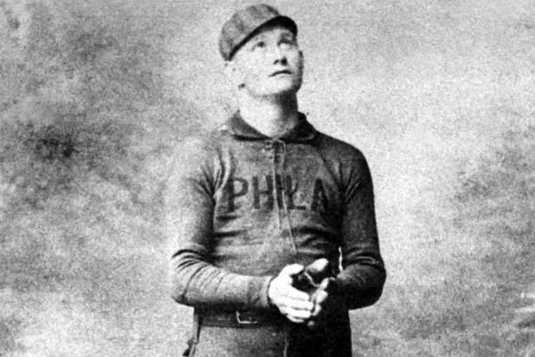 Ed Delahanty was a star player on the 1900 Phillies team that was accused of stealing signs.