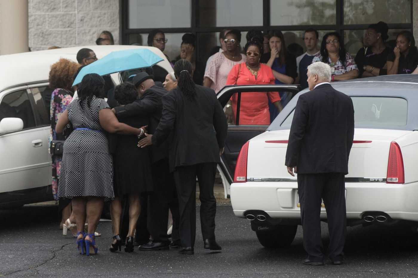 At funeral services for apparent road-rage victim, 'tears of joy and pain'