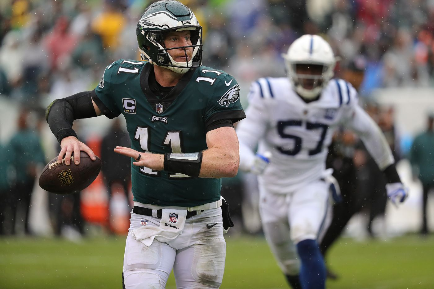 Now that the Eagles' Carson Wentz has played, the discussion can shift from his health to his performance