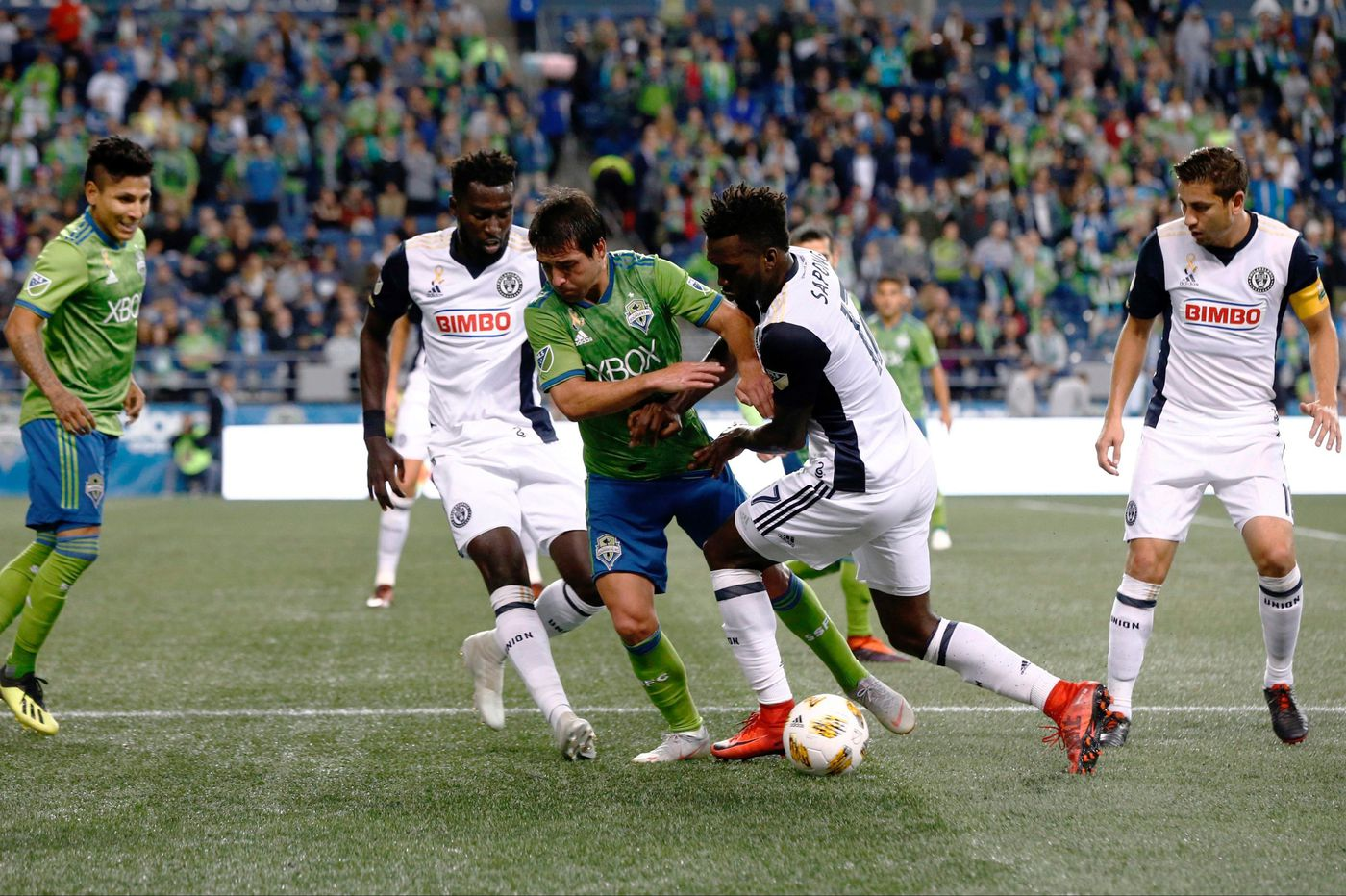 In Union's win at Seattle, Derrick Jones leads one of most stunning victories in Jim Curtin's tenure as manager