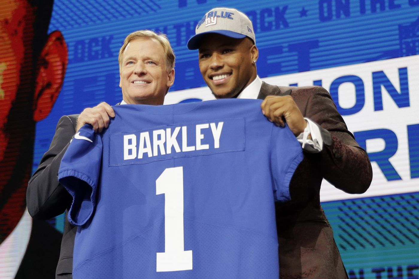 Saquon Barkley is great, but the Eagles should be thankful the Giants drafted him | Mike Sielski