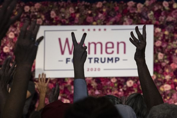 'Mainstream media say we don't exist'; women for Trump rally at national kickoff campaign in King of Prussia