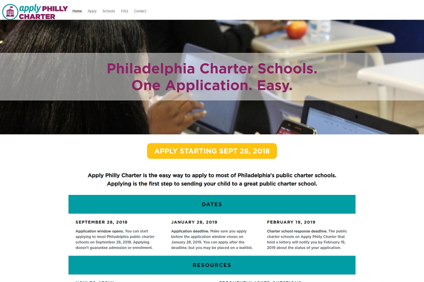 On new website, parents, students can apply to dozens of Philly charter schools at once