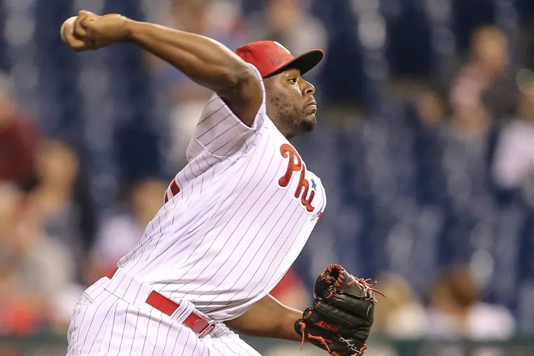 Hector Neris converted his final 20 save chances in 2017.