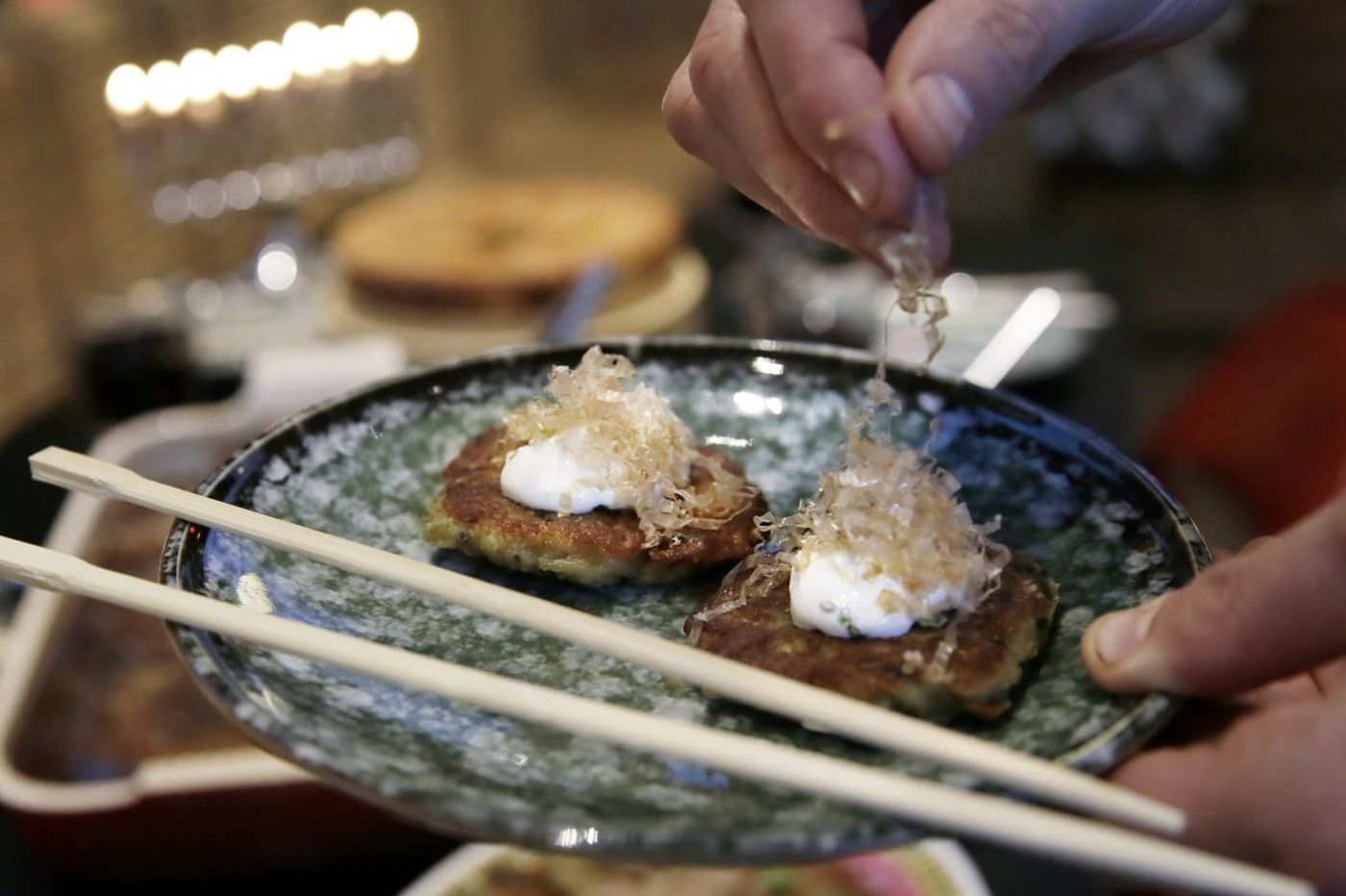 At Cheu, a Hanukkah meal with flavors from Japan and China