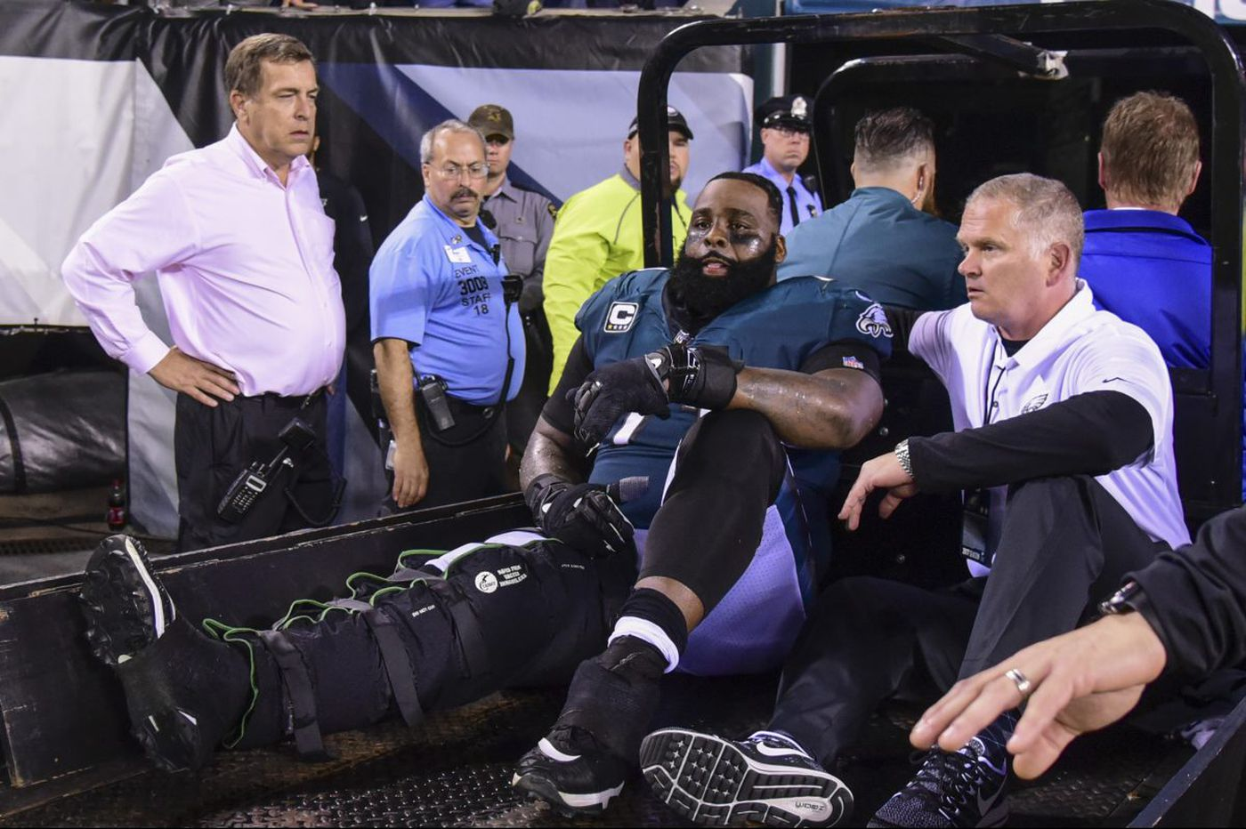 Frank Reich discusses how Eagles offense survives loss of Jason Peters