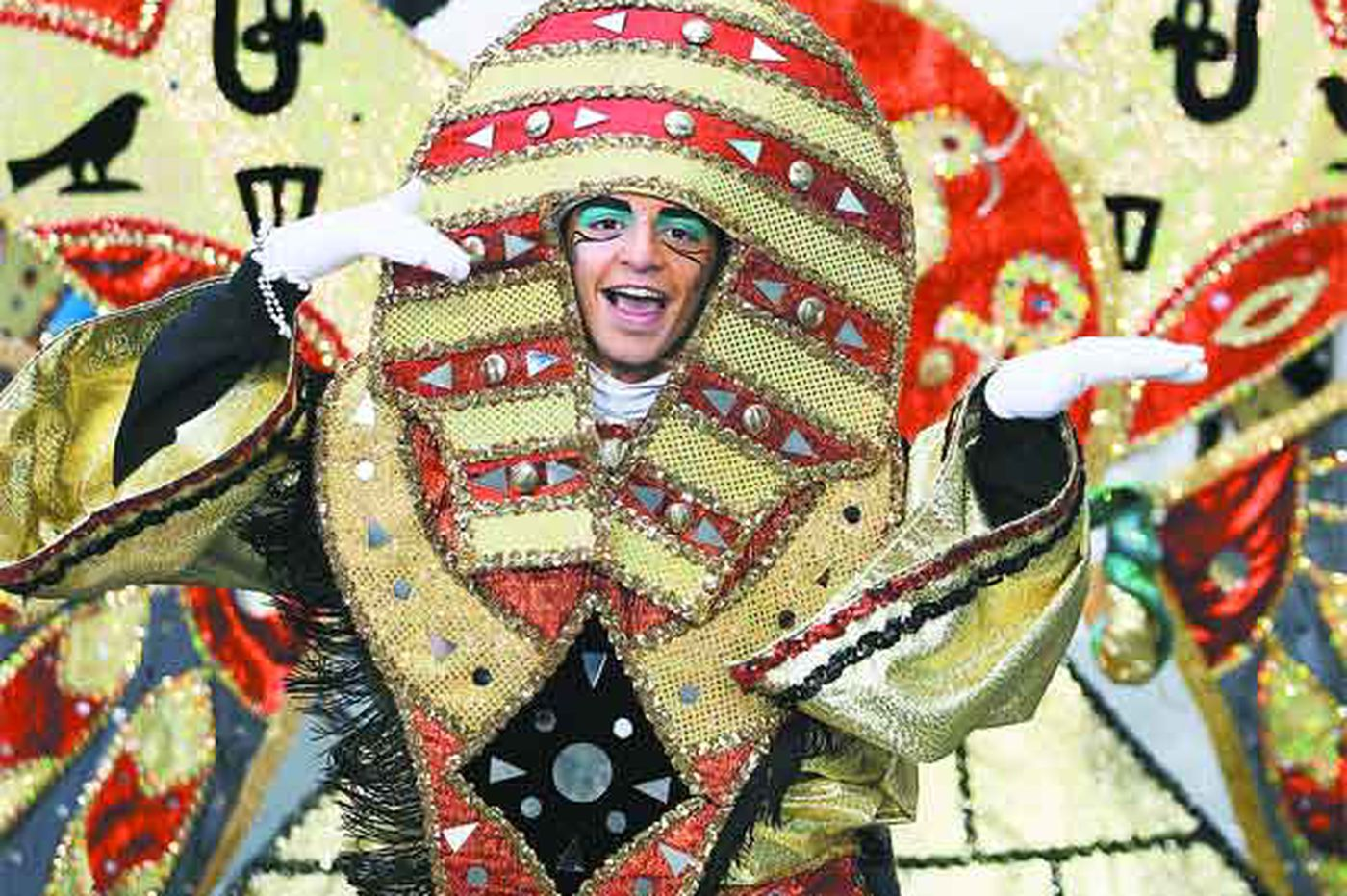 A Mummers' performance preview