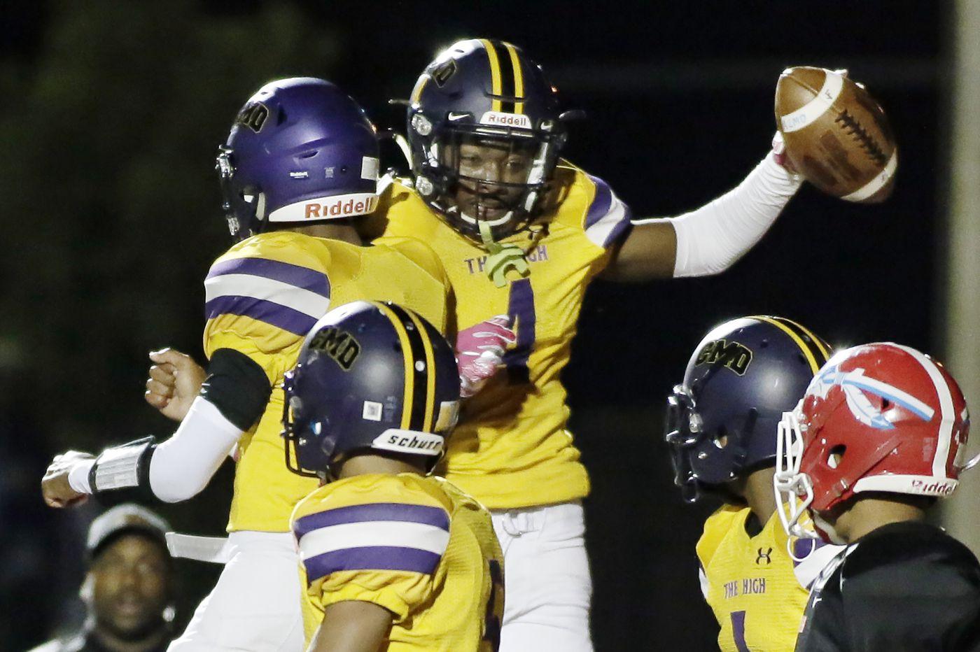 Camden beats Pennsauken football behind Jujuan Hudson