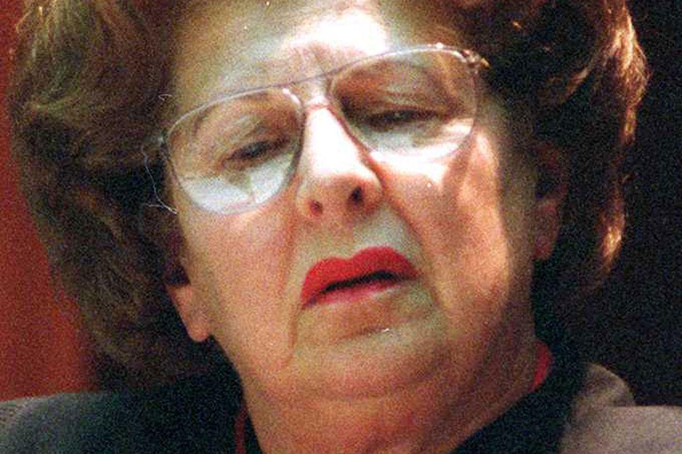 U.S. District Senior Judge Norma Shapiro, 87