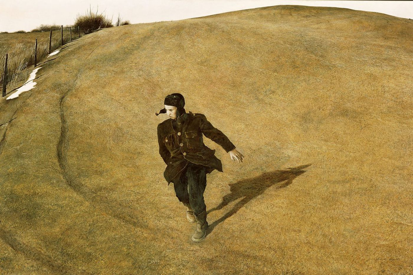 Big show at Brandywine goes way beyond 'Christina' into Andrew Wyeth's lonely world