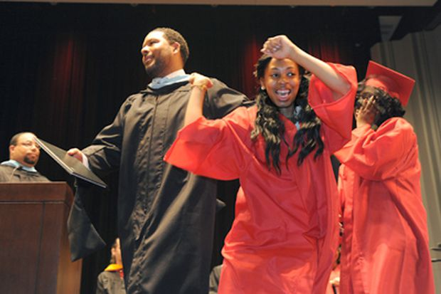 """Graduation marks the end of South Philadelphia High's """"year after"""""""