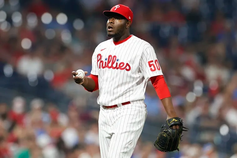 Phillies reliever Héctor Neris entered Tuesday night's game having not yielded a run in 13 of 14 appearances, including seven in a row.
