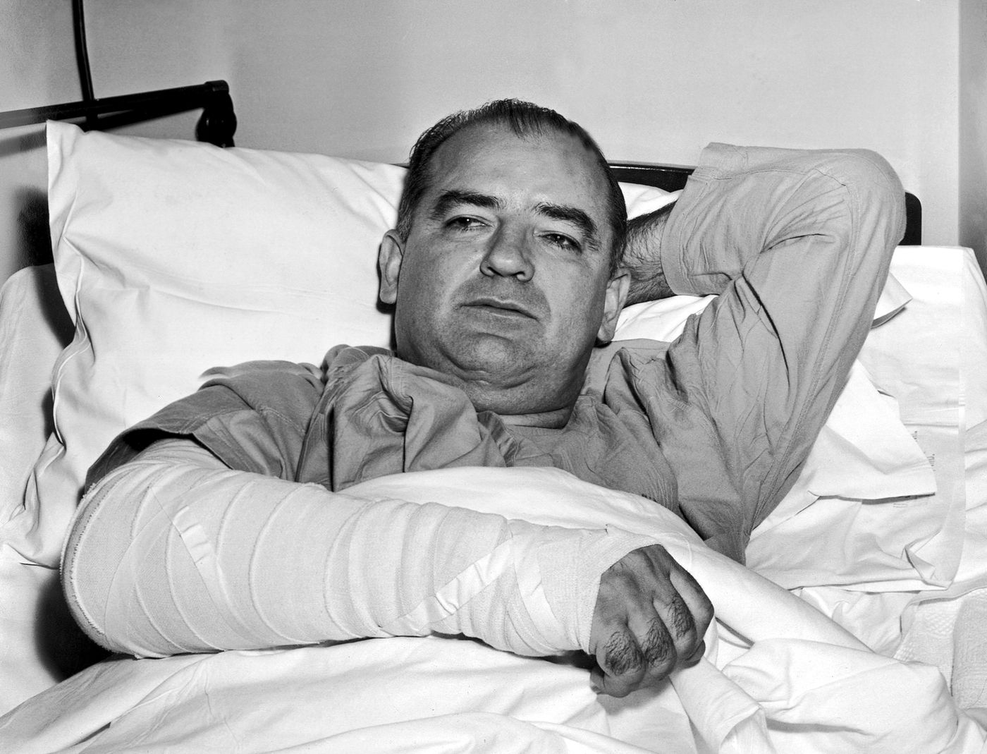 Medical Mystery: What killed 'Red Scare' Sen  Joseph McCarthy?