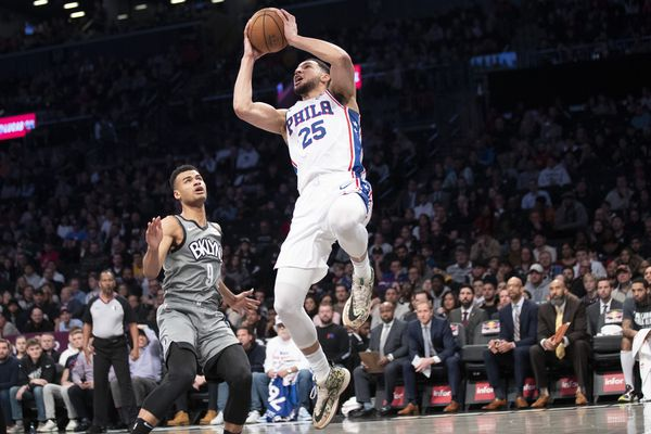 Ben Simmons' triple-double leads Sixers to 117-111 victory over Brooklyn Nets