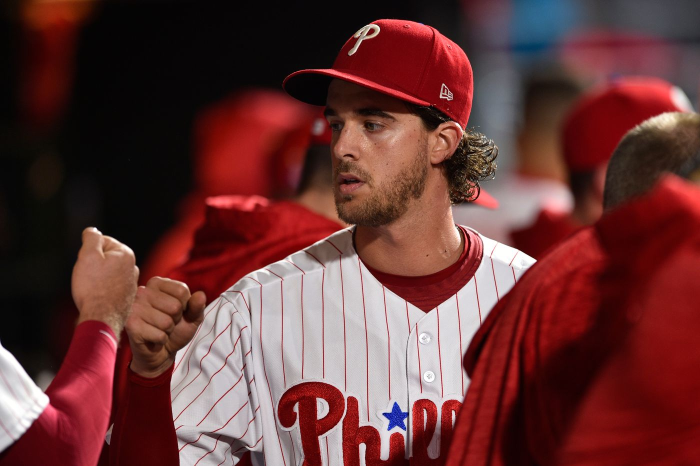 Aaron Nola will be eligible to pitch in next week's All-Star Game. Could he start?
