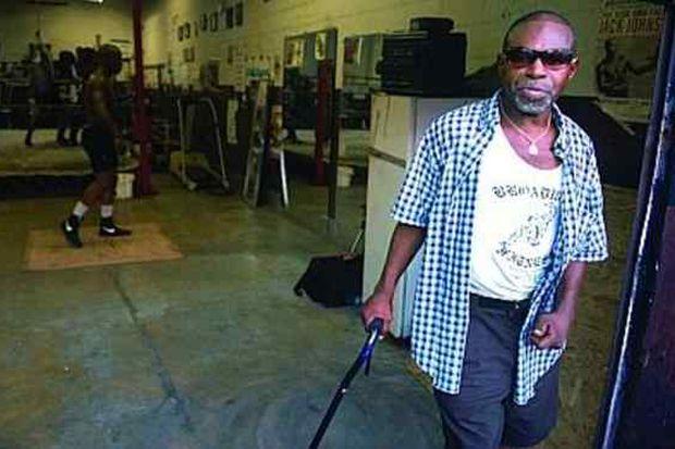 Former boxing champion Rocky Lockridge, 60