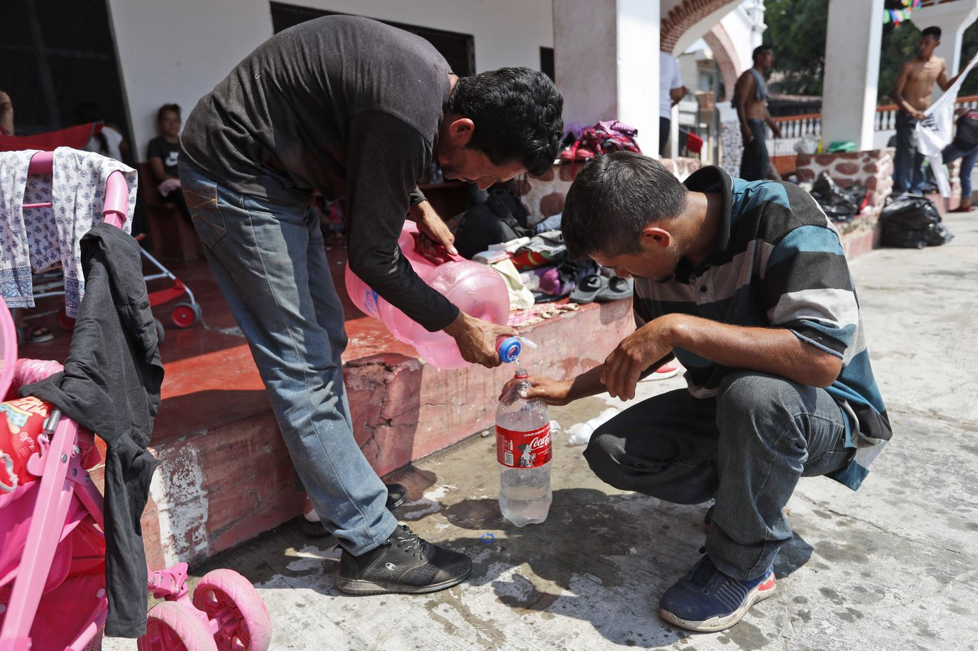 Migrants fearful after hundreds arrested in Mexico raid