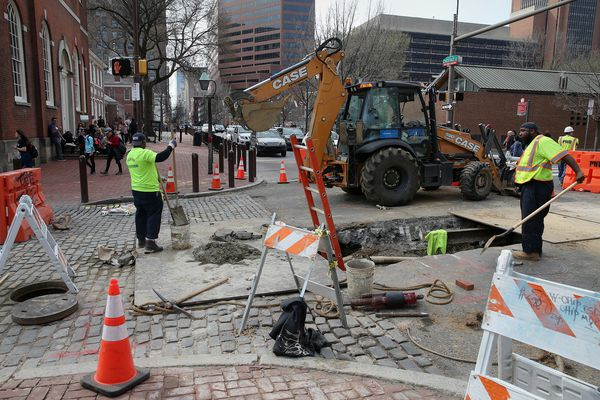 Pedestrian paradise? Street closure near Independence Mall is a history lesson of sorts