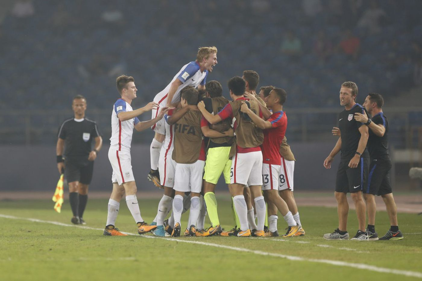 U.S. run in Under-17 World Cup brings hope for American soccer fans