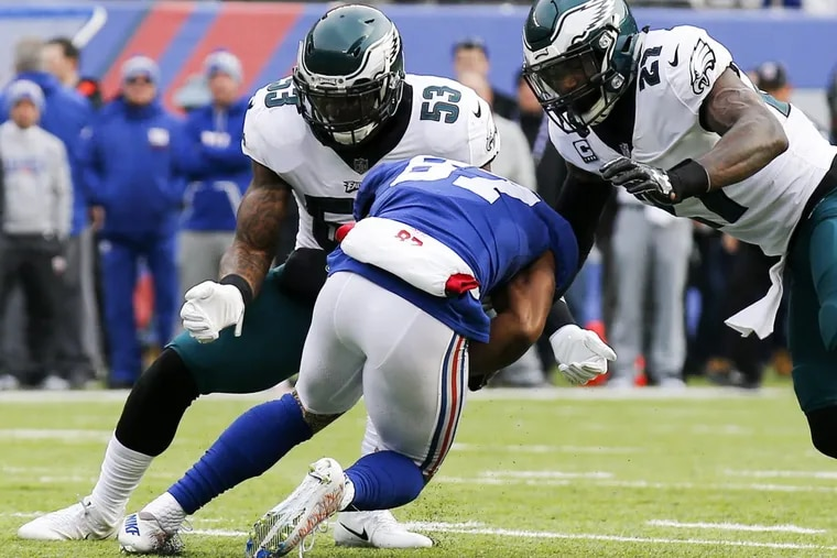 The Philadelphia Eagles have primarily built their 12-2 record this season on fast starts that have forced teams to play catch-up and alter their offensive game plans.