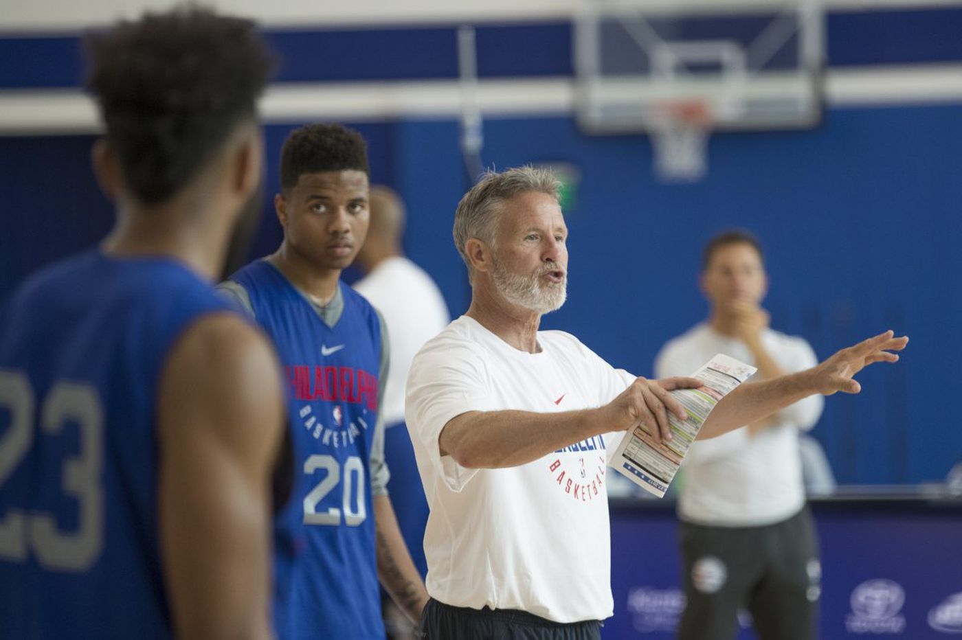 Sixers will test multiple lineups during scrimmage
